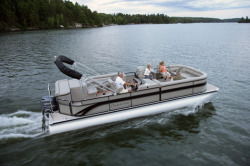 Premier Marine 235 Intrigue RE 2 Tube Pontoon Boat