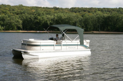 Premier Marine 235 Legend ES 2 Tube Pontoon Boat