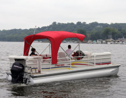 Premier Marine 180 Sunsation X-Series RE 3TB Pontoon Boat
