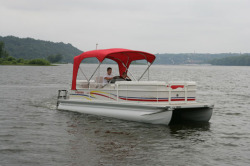 Premier Marine 210 SunSation X-Series ES 3TB Pontoon Boat