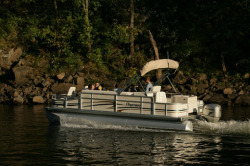 Premier Marine 221 Explorer RE 2 Tube Pontoon Boat
