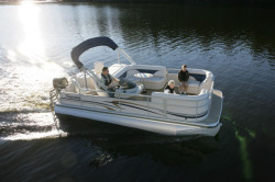 Premier Marine 221 Gemini RE 2 Tube Pontoon Boat