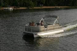 Premier Marine 231 Alante RE 3 Tube Pontoon Boat