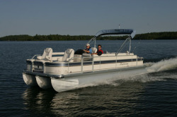 Premier Marine 231 Cast-A-Way RE 3 Tube Pontoon Boat