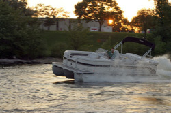 Premier Marine 235 S-Series 3 Tube Pontoon Boat