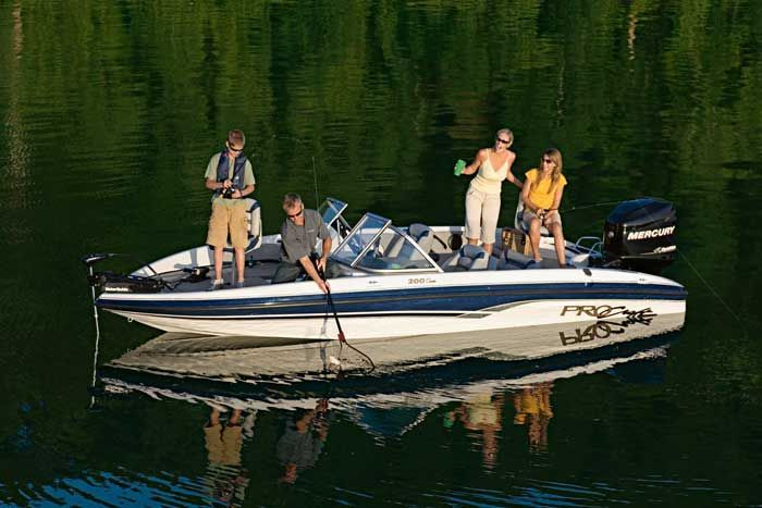 Research procraft boats 200 combo on for Fish and ski boat