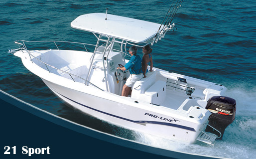 Research pro line boats 21 sport center console boat on for Center console sport fishing boats