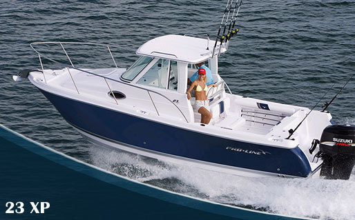 Research Pro Line Boats 23xp Express Express Fisherman Boat On