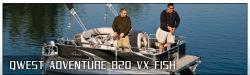 2012 - Qwest Adventure - 820 VX Fish