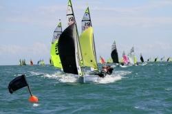 2013 - RS Sailing - RS Feva XL