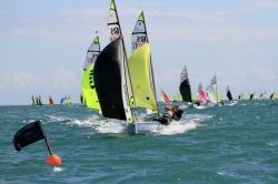 2013 - RS Sailing - RS Feva XL Race