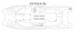 2015 - Razor Boats - 236 Fish  Ski