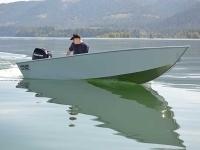 2017 - River Hawk Boats - Pro V 14