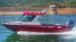 2017 - River Hawk Boats - Coastal Cuddy 22