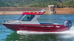 2019 River Hawk Boats Coastal Cuddy 21