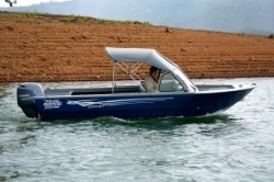 2019- River Hawk Boats - SH Sport 16