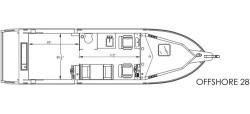 2020 - River Hawk Boats - Offshore 28