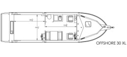 2020 - River Hawk Boats - Offshore XL 30