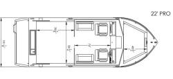 2020 - River Hawk Boats - Pro 22