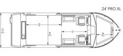 2020 - River Hawk Boats - Pro 24