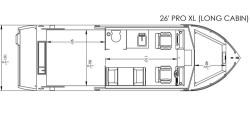 2020 - River Hawk Boats - Pro 26