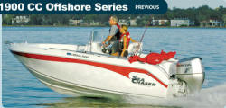 Sea Chaser Boats 1900 CC Offshore Center Console Boat