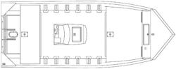 2012 - Seaark Boats - 1860 V-Pro LD CC