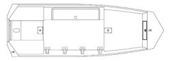2013 - Seaark Boats - DXS 1542 SLD