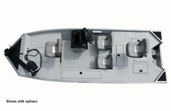 Seaark Boats Outlaw 170 Bass Boat