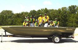 Seaark Boats V-Cat CC Jon Boat