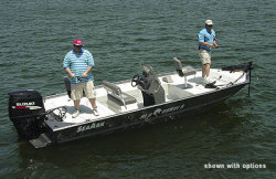 Seaark Boats Red Runner 200 Center Console Boat