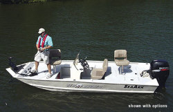 Seaark Boats Red Runner 180 Center Console Boat