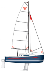 2013 - Seaward Sailboats - 19 RK Fox