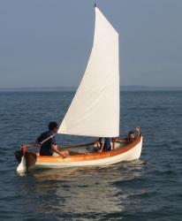 2014 - Shearwater Boats - Whitehall Sailboat