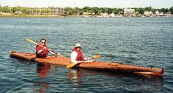 Shearwater Boats Baidarka Double 21 Kayak Boat