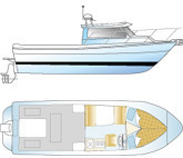 2019 - Skagit Boats - 24 XLC Extended Cabin
