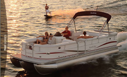 2009 - South Bay Boats - 722CR TT IO