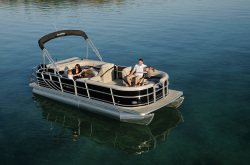 2012 - South Bay Pontoons - 522SLX