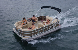 2015 - South Bay Boats - 422FCR