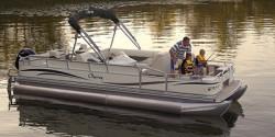 Forest River South Bay 325C TT IO Pontoon Boat