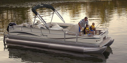 Forest River South Bay 322FC TT IO Pontoon Boat