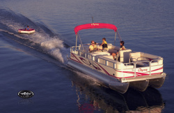 Forest River South Bay 225CR TT IO Pontoon Boat