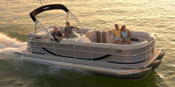 Forest River South Bay 925CPTR TT IO Pontoon Boat