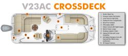 2018 - Southwind Boats - V23AC Crossdeck