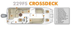 2019 - Southwind Boats - 229FS Crossdeck