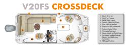 2019 - Southwind Boats - V20FS Crossdeck