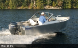 2017 - Stanley Boats - Mink 18 CC