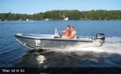 2017 - Stanley Boats - Tiller 16 W