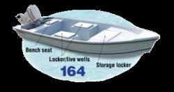 2014 - Stumpnocker Boats - 164 Skiff Tiller