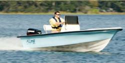 2015 - Stumpnocker Boats - 16 Tiderunner
